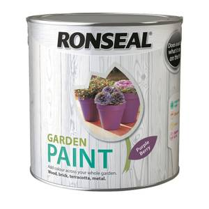 Ronseal Garden Paint - Purple Berry 2.5L