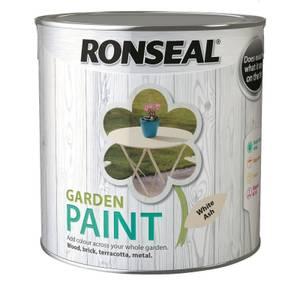Ronseal Garden Paint - White Ash 2.5L