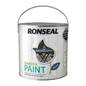Ronseal Garden Paint - Bluebell 2.5L