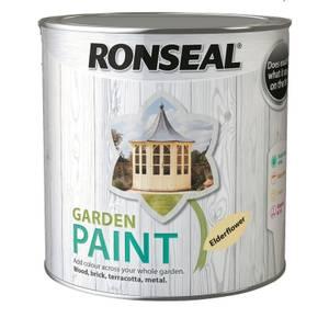 Ronseal Garden Paint - Elderflower 2.5L