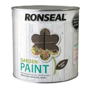 Ronseal Garden Paint - English Oak 2.5L