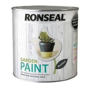 Ronseal Garden Paint - Blackbird 2.5L