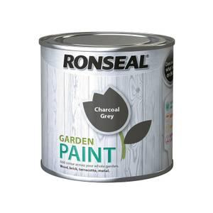 Ronseal Garden Paint - Charcoal Grey 250ml