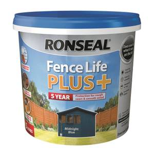 Ronseal Fence Life Plus - Midnight Blue 5L