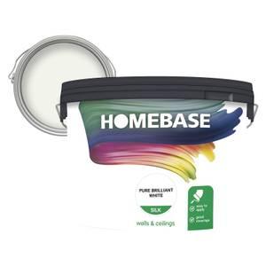Homebase Silk Paint - Pure Brilliant White 10L
