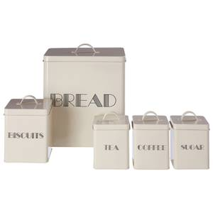5 Piece Storage Set - Cream