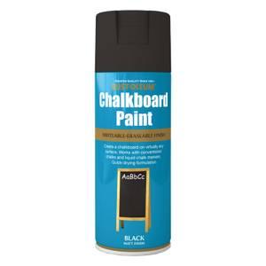 Rust-Oleum Chalk Board Spray Paint - Black - 400ml
