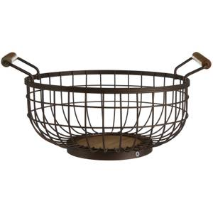 Fruit Basket - Bronze Powder Coated