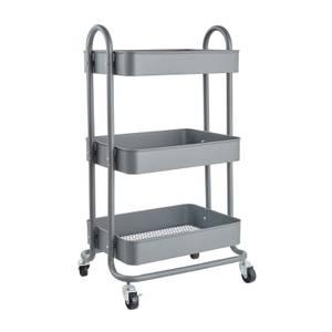 3 Tier Storage Trolley - Grey