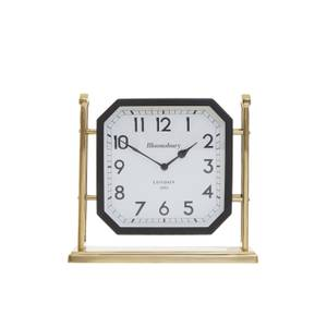 Hampstead Mantel Clock - Black & Gold