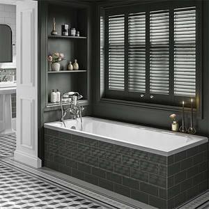 Bathstore Savoy Straight Bath - 1700 x 700mm