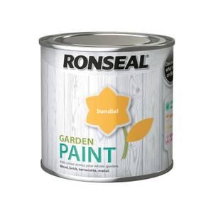 Ronseal Garden Paint - Sundial 250ml