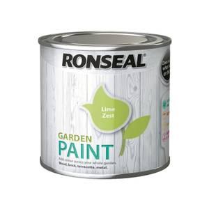 Ronseal Garden Paint - Lime Zest 250ml