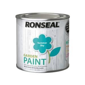 Ronseal Garden Paint - Summer Sky 250ml