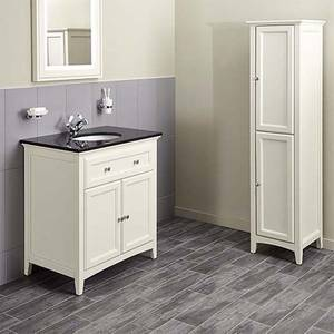 Bathstore Savoy 790mm Granite Top Floorstanding Vanity Unit