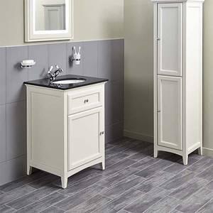Bathstore Savoy 600mm Granite Top Floorstanding Vanity Unit