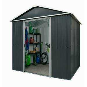 6x4.5ft Yardmaster Metal Apex Shed