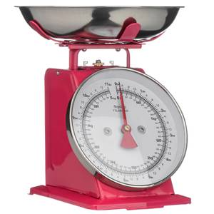 Hot Pink Standing Kitchen Scale Hot - 5kg