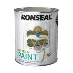 Ronseal Garden Paint - White Ash 750ml