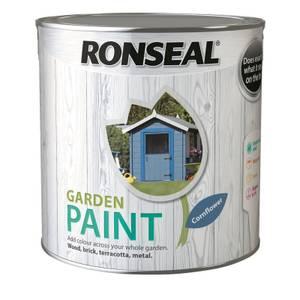 Ronseal Garden Paint - Cornflower 2.5L