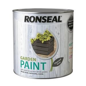Ronseal Garden Paint - Charcoal Grey 2.5L