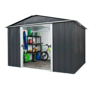 10x13ft Yardmaster Metal Apex Shed