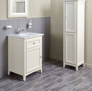 Savoy 600mm Marble Top Floorstanding Vanity Unit