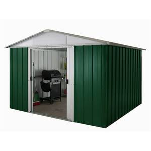 10x10ft Yardmaster Metal Apex Shed