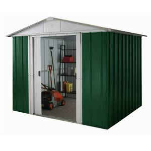 8x7ft Yardmaster Metal Apex Shed