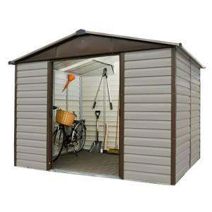 10x6ft Yardmaster Shiplap Metal Shed