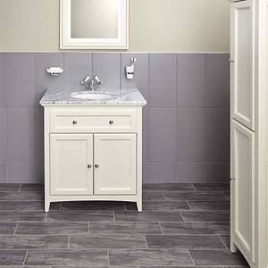 Bathstore Savoy 790mm Marble Top Floorstanding Vanity Unit
