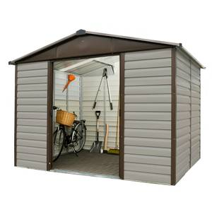 10x8ft Yardmaster Shiplap Metal Shed