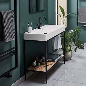 Bathstore Noir 1000mm Basin and Frame Unit