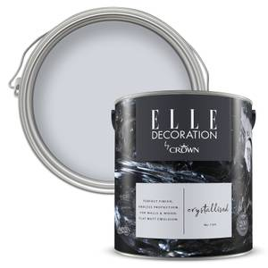 ELLE Decoration by Crown Flat Matt Paint - Crystallised 2.5L