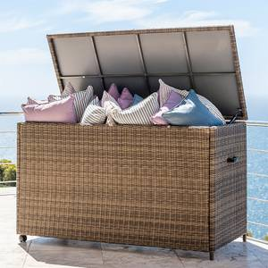 Outdoor Rattan Cushion Storage Box - Willow
