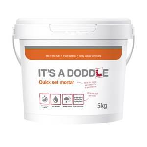 Its a Doddle Quick Set Mortar - 5kg Tub