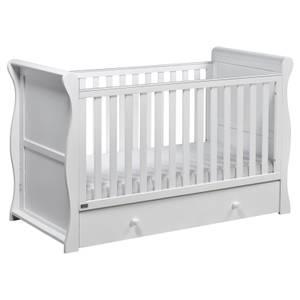 Nebraska Cot Bed - White