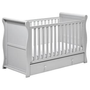 Nebraska Cot Bed - Grey