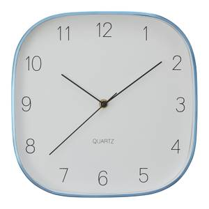 Elko Square Wall Clock - Blue
