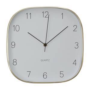 Elko Square Wall Clock - Gold