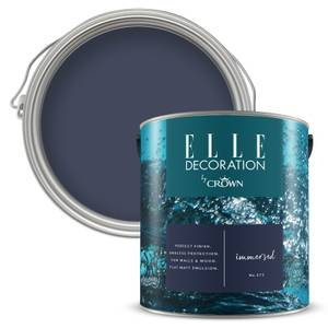 ELLE Decoration by Crown Flat Matt Paint - Immersed 2.5L