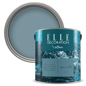 ELLE Decoration by Crown Flat Matt Paint - Open Water 2.5L