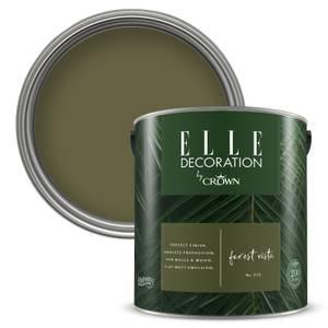 ELLE Decoration by Crown Flat Matt Paint - Forest Vista 2.5L