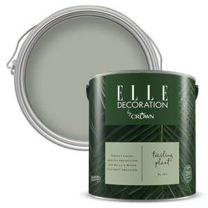 ELLE Decoration by Crown Flat Matt Paint - Trailing Plant 2.5L