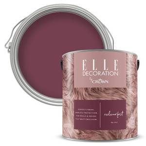 ELLE Decoration by Crown Flat Matt Paint - Colourfast 2.5L