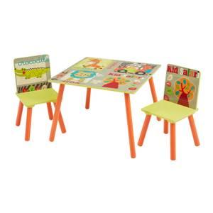 Kids Safari Table and Chair Set