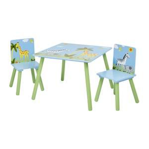 Safari Square Table and Chair Set