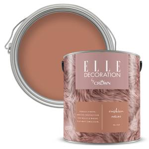 ELLE Decoration by Crown Flat Matt Paint - Cushion Craze 2.5L