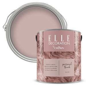 ELLE Decoration by Crown Flat Matt Paint - Personal Touch 2.5L