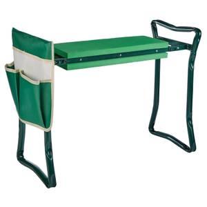 Homebase Foldable Garden Kneeler Stool
